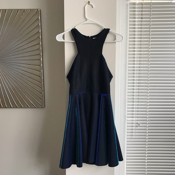 Urban Outfitters Dresses & Skirts - Urban Outfitters Metallic Blue Mini Party Dress